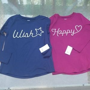 Carter's long sleeve girls lot